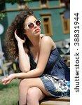 attractive female beauty... | Shutterstock . vector #38831944