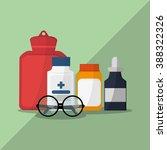 medical care design  | Shutterstock .eps vector #388322326