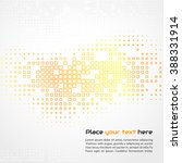 abstract technology background. ... | Shutterstock . vector #388331914