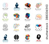 mind icons set   isolated on... | Shutterstock .eps vector #388336543
