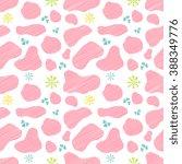 vector seamless pattern pink... | Shutterstock .eps vector #388349776