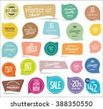 modern badges collection | Shutterstock .eps vector #388350550