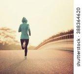 young fitness woman runner... | Shutterstock . vector #388364620