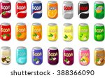 vector illustration of various... | Shutterstock .eps vector #388366090