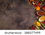 set of various aromatic... | Shutterstock . vector #388377499