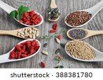 useful  healthy food. set the... | Shutterstock . vector #388381780