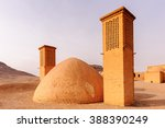ruins near the towers of... | Shutterstock . vector #388390249