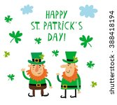 vector st. patrick's day set | Shutterstock .eps vector #388418194