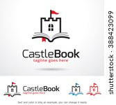 castle book logo template... | Shutterstock .eps vector #388423099