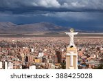 view of oruro  bolivia | Shutterstock . vector #388425028