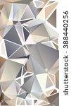 randomly scattered triangles of ... | Shutterstock .eps vector #388440256