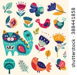 vector collection in bright... | Shutterstock .eps vector #388441858