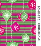 christmas decoration   seamless ... | Shutterstock .eps vector #38845405