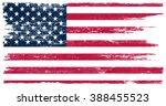 Grunge Usa Flag. American Flag...