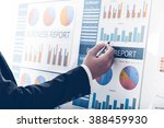 businessman analyzing... | Shutterstock . vector #388459930