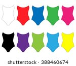 set of swimsuits in different...