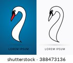 Head Swan Graphic Vector