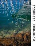 underwater sea background. blue ... | Shutterstock . vector #388485328
