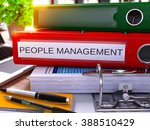 people management   red office... | Shutterstock . vector #388510429