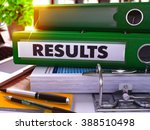 green ring binder with... | Shutterstock . vector #388510498