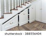 boxes under a ladder | Shutterstock . vector #388556404