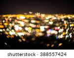 Heart Bokeh Of Los Angeles At...