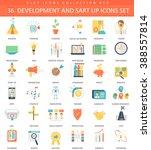 vector startup and development... | Shutterstock .eps vector #388557814
