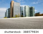 the modern urban commercial... | Shutterstock . vector #388579834