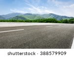 Asphalt Road In Front Of The...