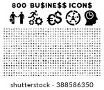 800 business vector icons.... | Shutterstock .eps vector #388586350