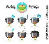 step by step set icons... | Shutterstock .eps vector #388588309