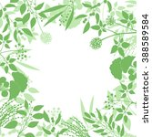 green square background with... | Shutterstock .eps vector #388589584