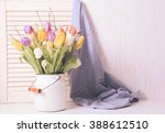 Color Tulips With Branches In ...