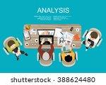 flat design illustration... | Shutterstock .eps vector #388624480