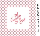 cute square background border... | Shutterstock .eps vector #388629973