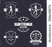 Golf Club  Academy Vintage...