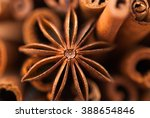 Anise Star And Cinnamon Sticks...
