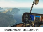 aerial view from a helicopter... | Shutterstock . vector #388685044
