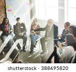 business team seminar corporate ... | Shutterstock . vector #388695820