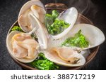 Clams Steamed In Sake Japanese ...