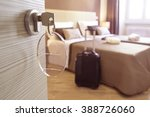 guest house room in rome  italy | Shutterstock . vector #388726060
