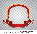 vector ellipse stage with red... | Shutterstock .eps vector #388728370