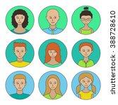 those people.avatars men  women ...   Shutterstock .eps vector #388728610