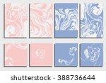 abstract creative card... | Shutterstock .eps vector #388736644