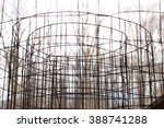 wire fence roll | Shutterstock . vector #388741288