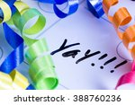 concept image for celebrating... | Shutterstock . vector #388760236