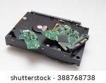 damaged hard drive | Shutterstock . vector #388768738