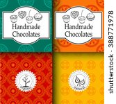 vector handmade chocolates... | Shutterstock .eps vector #388771978