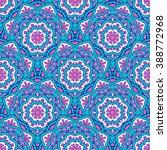 seamless oriental ornamental... | Shutterstock .eps vector #388772968