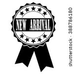 new arrival icon on a white ... | Shutterstock .eps vector #388786180